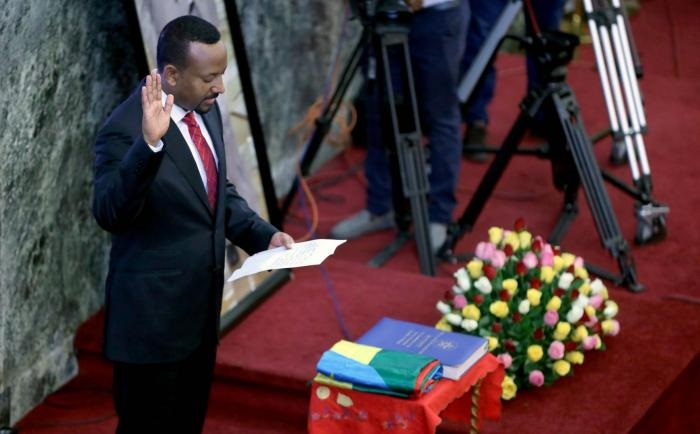 Ethiopia's Abiy Ahmed sworn in as PM for new term