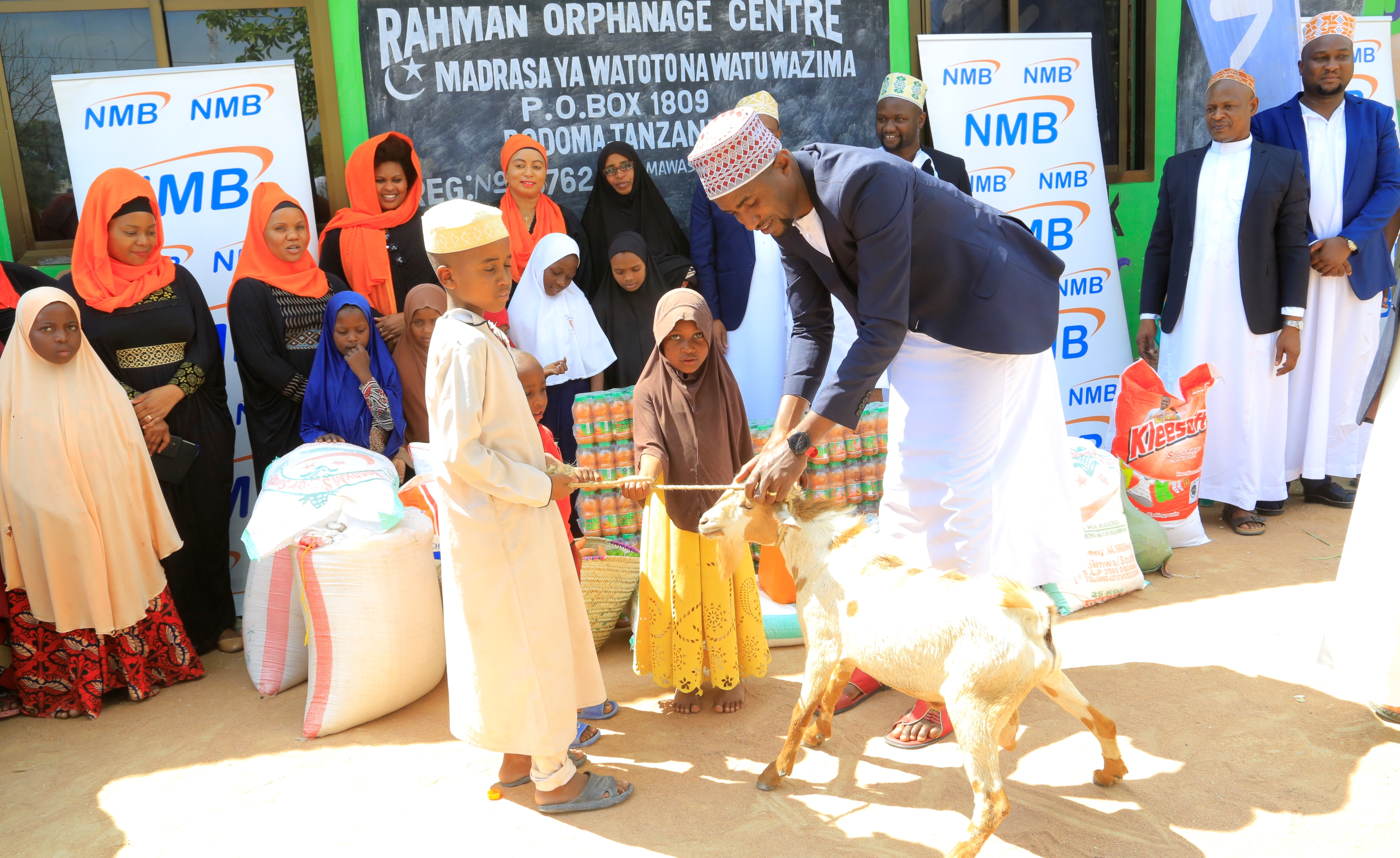 NMB puts smile to over 1,000 orphans