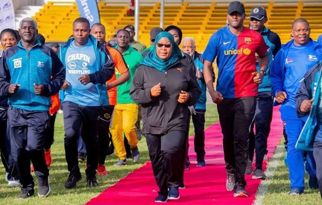 VP Samia calls for promotion of young athletes in the country