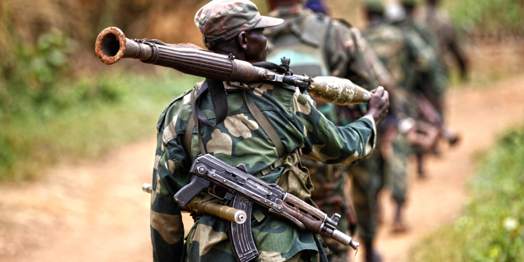 Rogue soldier kills 14 people in DR Congo