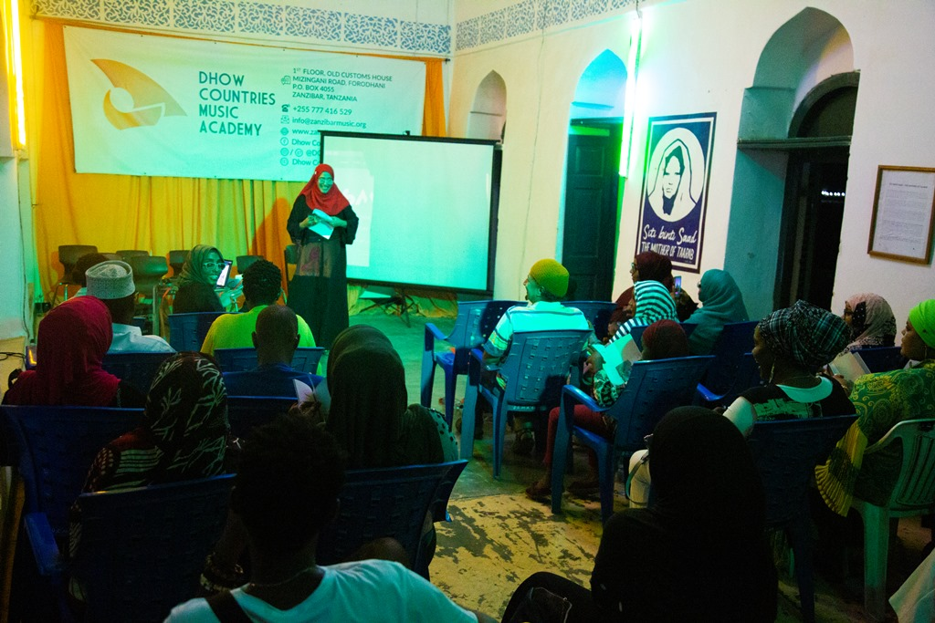 Scented female voices weave Zanzibar as SAWTI takes off