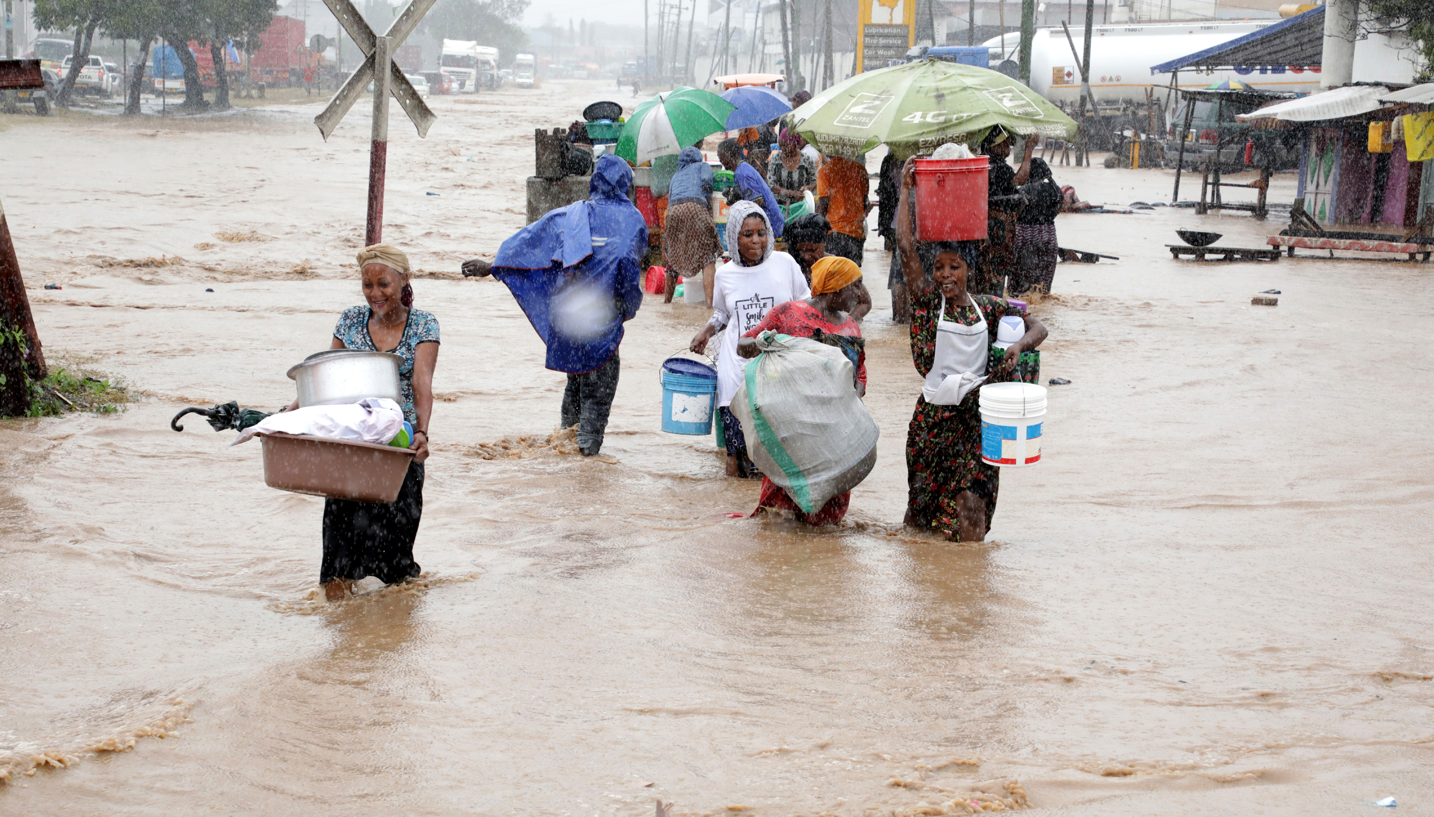 Dar residents jogged on floods risk