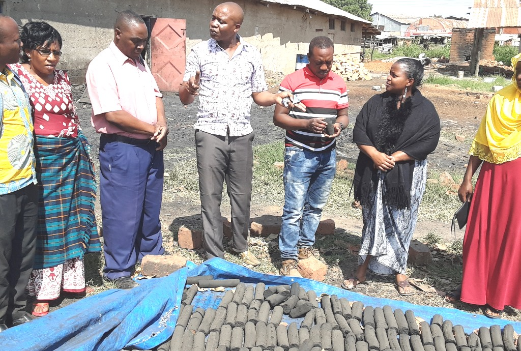 Local entrepreneurs kill two birds with one briquette