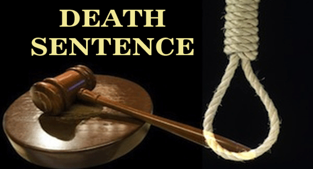 Man sentenced to death by hanging for murdering wife