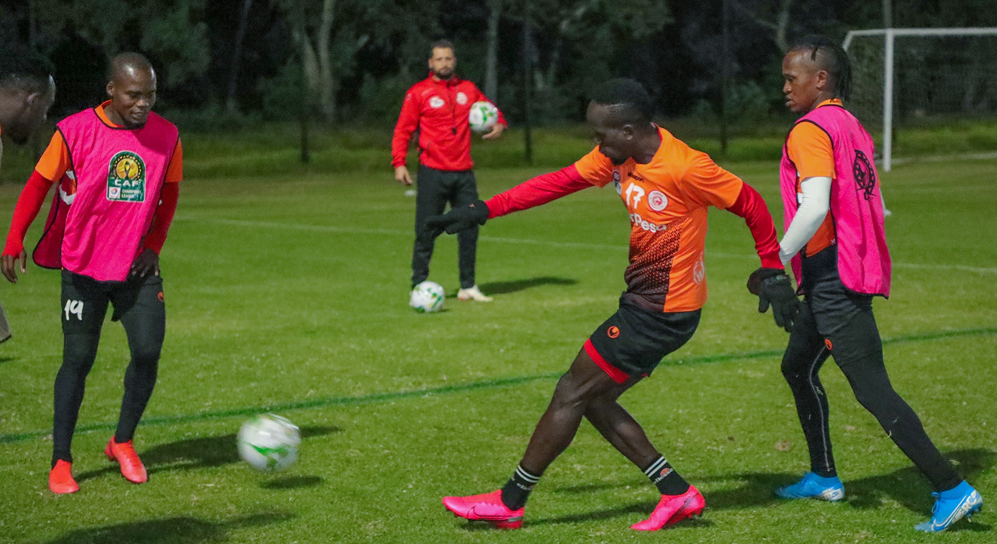 Simba step up gear for Chiefs