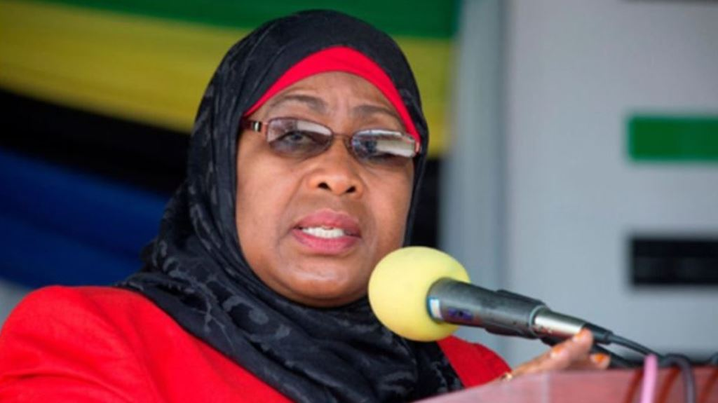 President Samia Suluhu Hassan breaks male tradition circle
