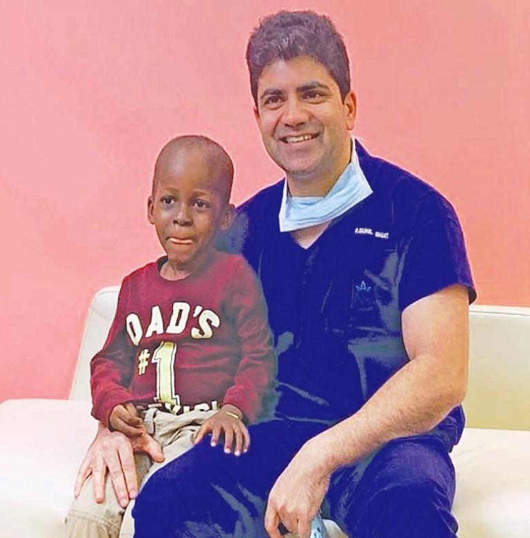 A child suffering from cancer gets a bloodless transplant