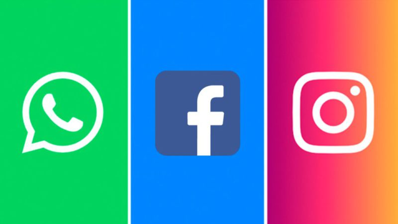 Facebook, Whatsapp and Instagram back after seven hour outage