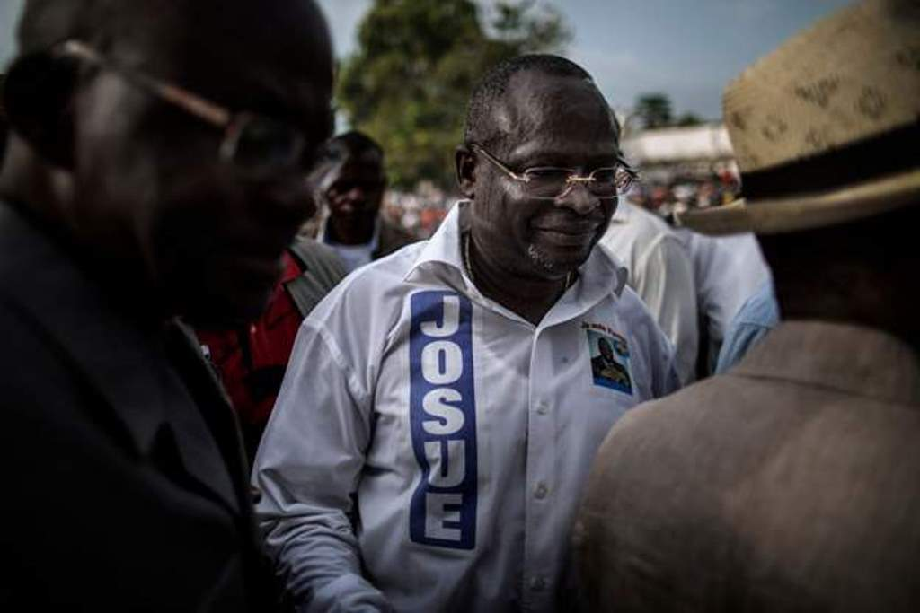 Congo presidential candidate 'died on plane to France'