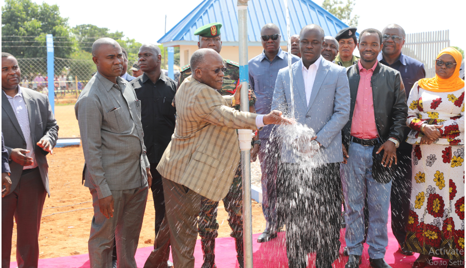 SPECIAL TRIBUTES TO DR. JOHN MAGUFULI: Magufuli threw weight on water projects