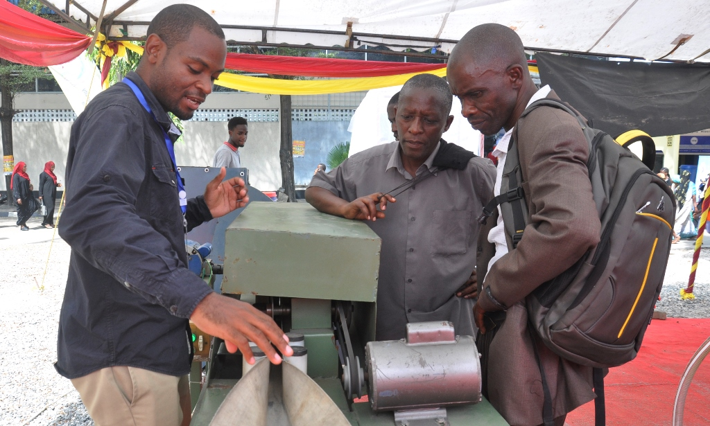 Fish scaler machine devised in Dar es Salaam
