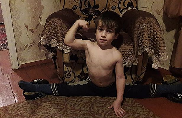 Boy wins Benz after doing over 3,000 press-ups consecutively