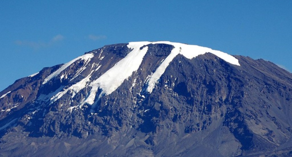 This is how to retain the ice sheet on top of Mount Kilimanjaro