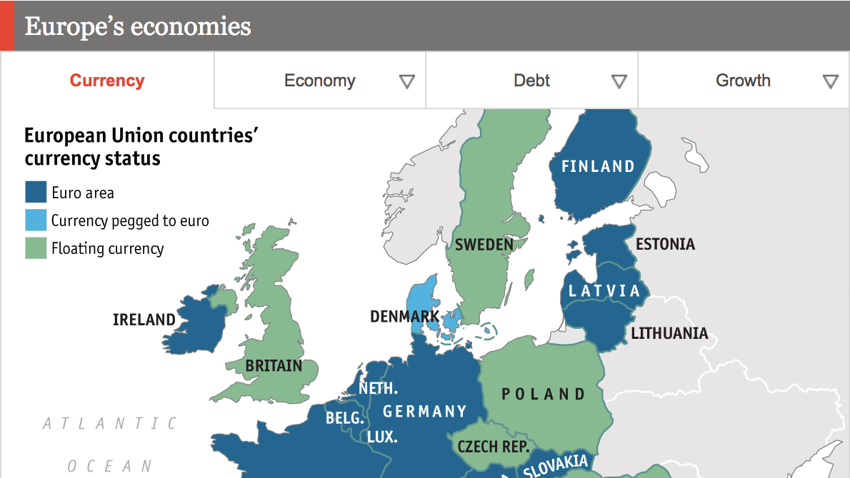 Europe's economy set to outpace US in past roles