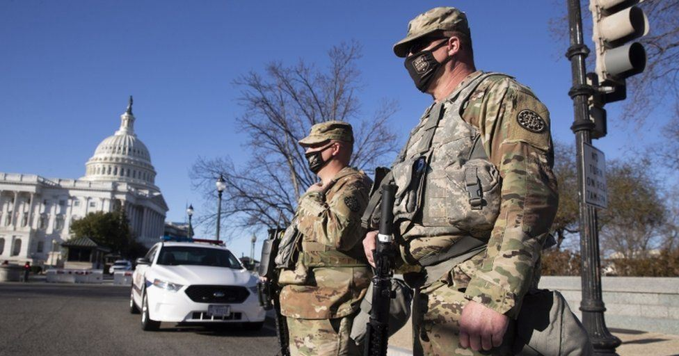 US Capitol police warn of possible militia plot to breach Congress