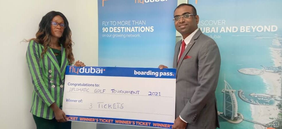 Firm donates hefty prize for Diplomatic golf winners