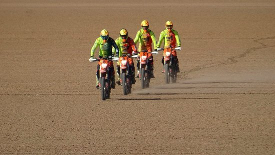 42 riders on EAC space race