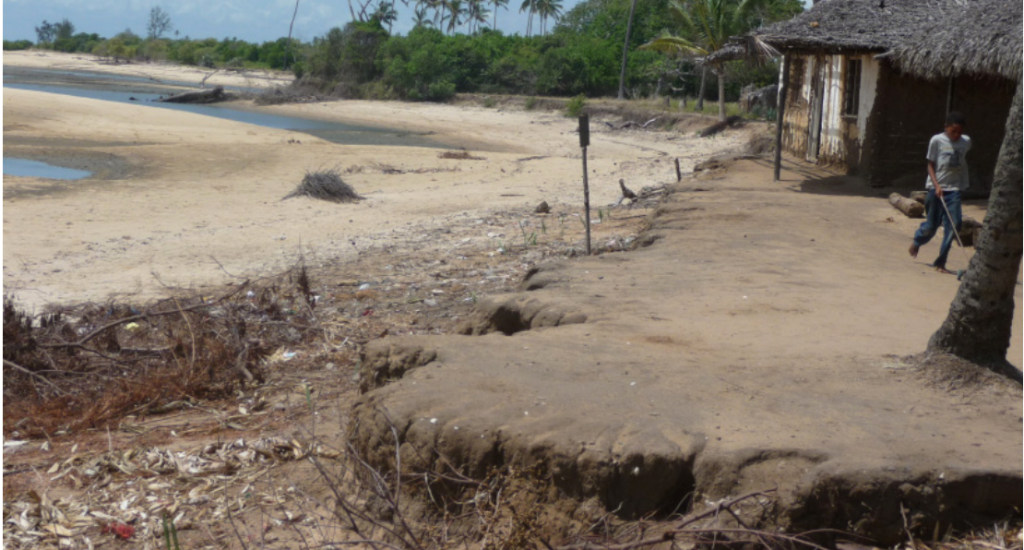 Villagers experience impact of climate change