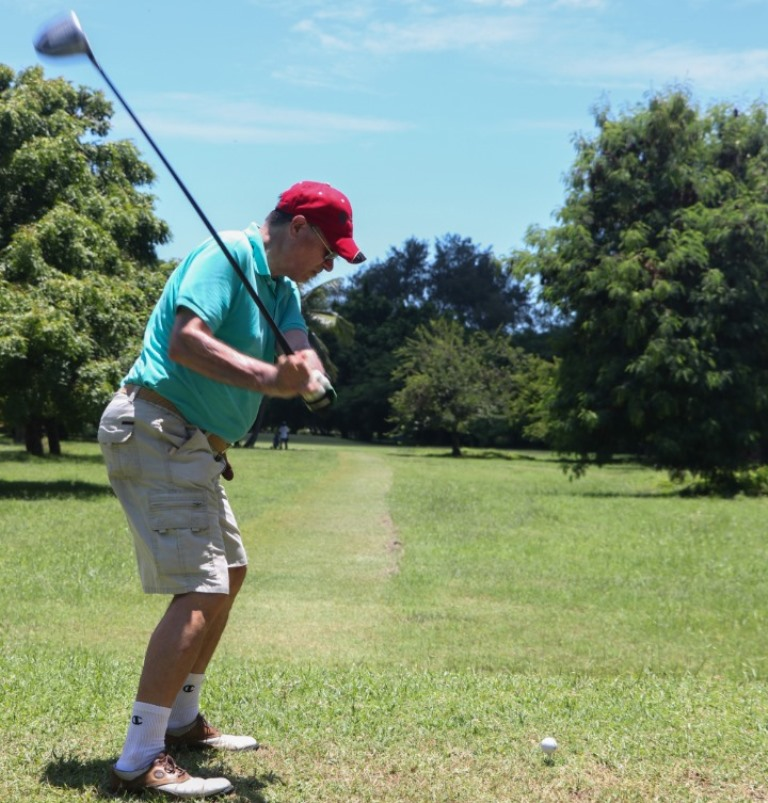 French envoy on course for golf promotion in TZ