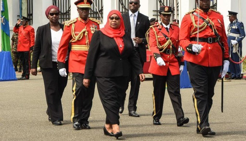 With her best foot forward, Mama Samia ready to go