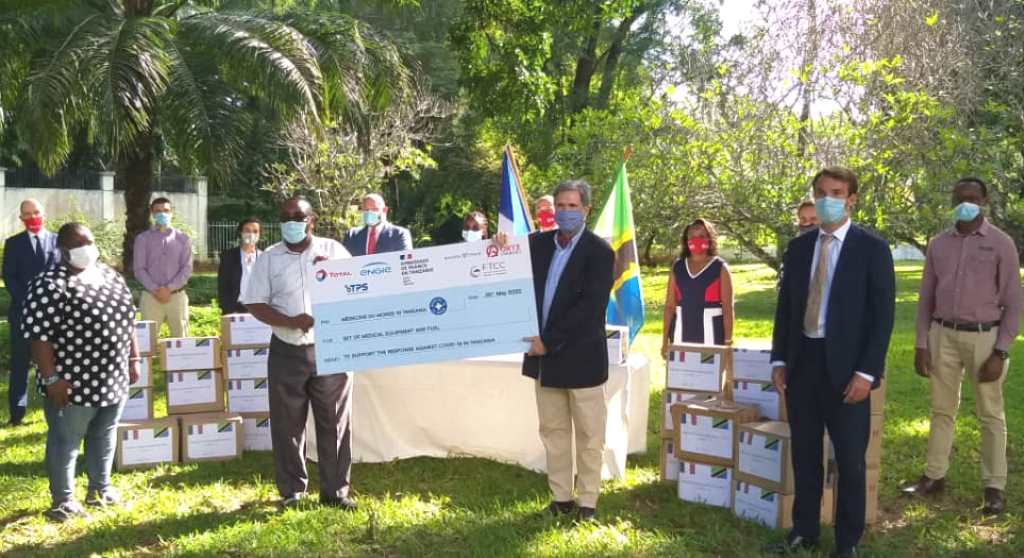 French companies donate Covid-19 medical equipment to local NGO