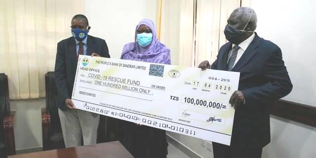 PBZ donates 100m /- to families, medics as Covid-19 relief