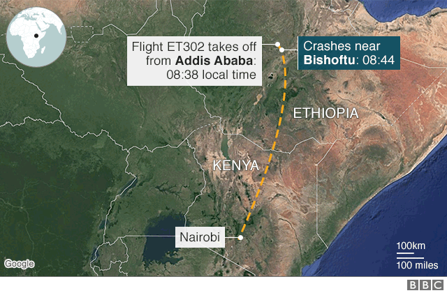 Ethiopian Airlines: Boeing faces questions after crash