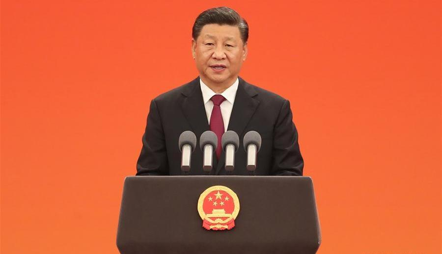 Chinese President Xi Jinping's 2020 New Year speech