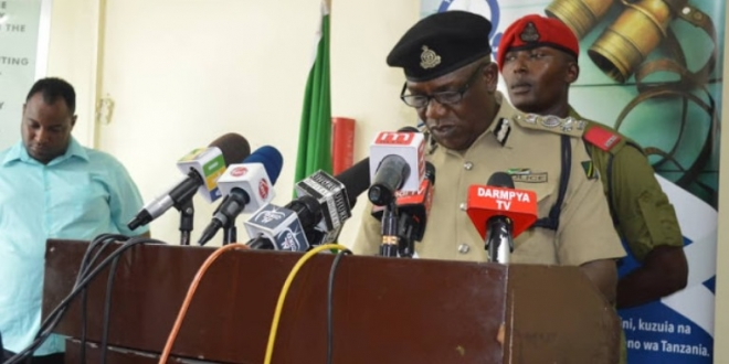 Police kill five suspected robbers in Dar