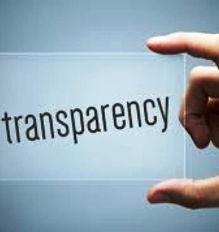 Pay taxes, managing is in the court of transparent government