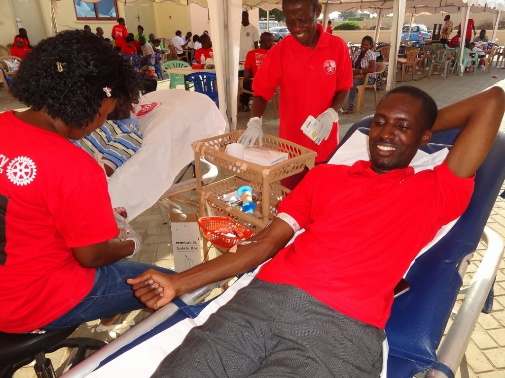 Youth have a role to ensure sustainable blood supply is maintained