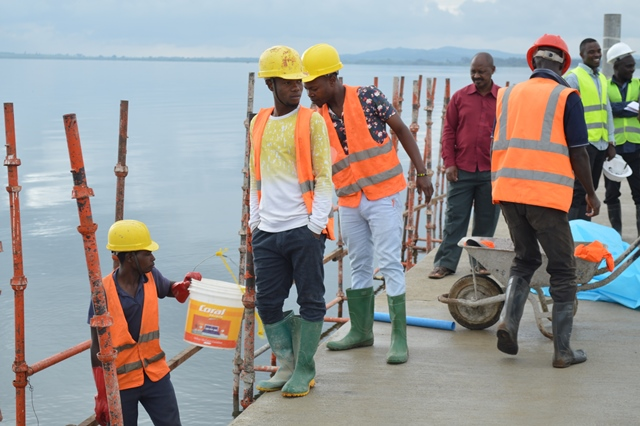 Nyamirembe Port in Chato now ready for use