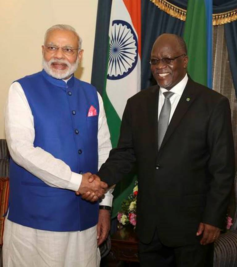 Kudos JPM, Indian Premier Modi for reinforcing bilateral relations