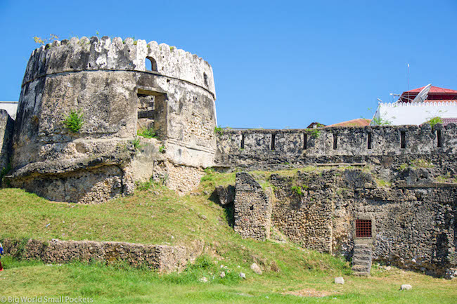 The myth surrounding the Old Fort of Zanzibar