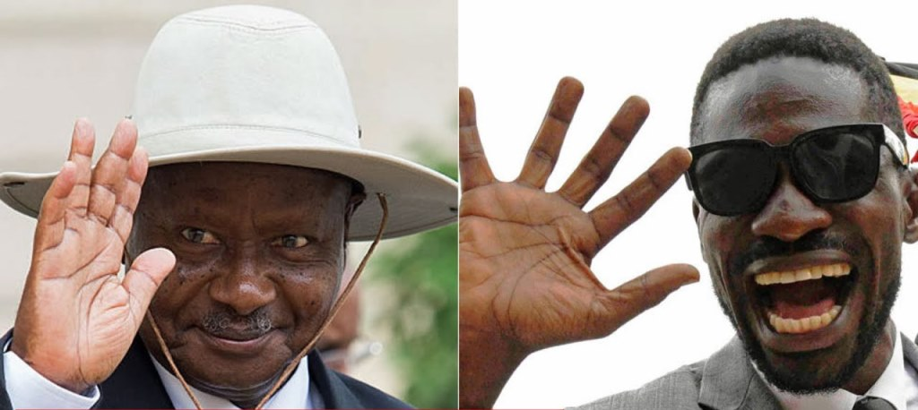 UGANDA ELECTION: Museveni trails Bobi Wine in preliminary results