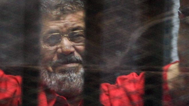 Former Egyptian president Morsi buried in Cairo