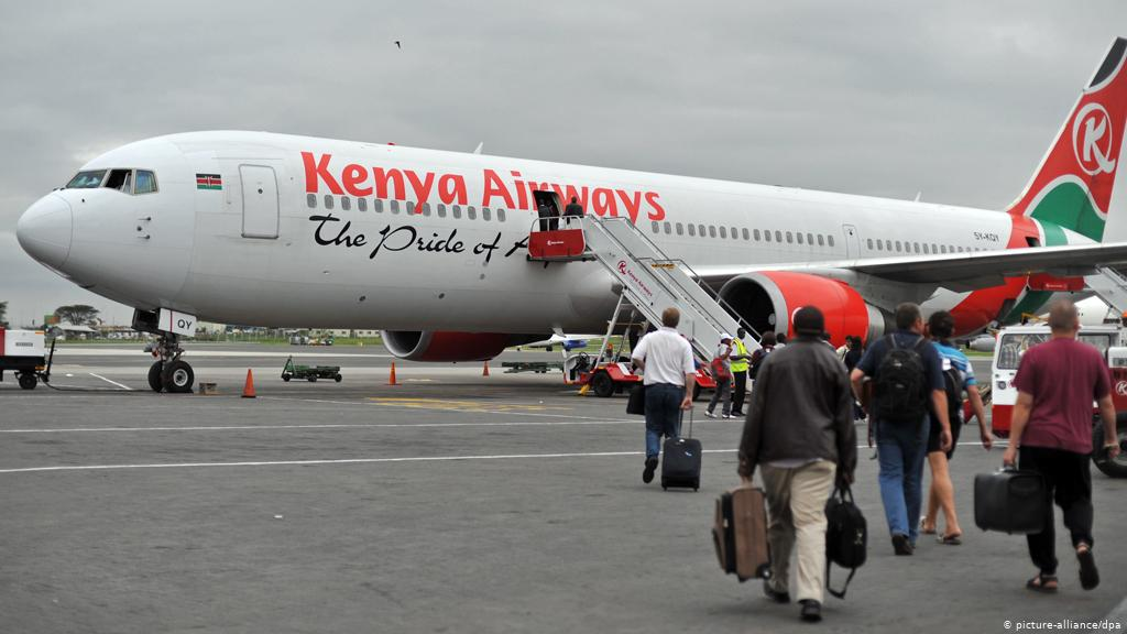 Kenya Airways suspends Nairobi, London flights