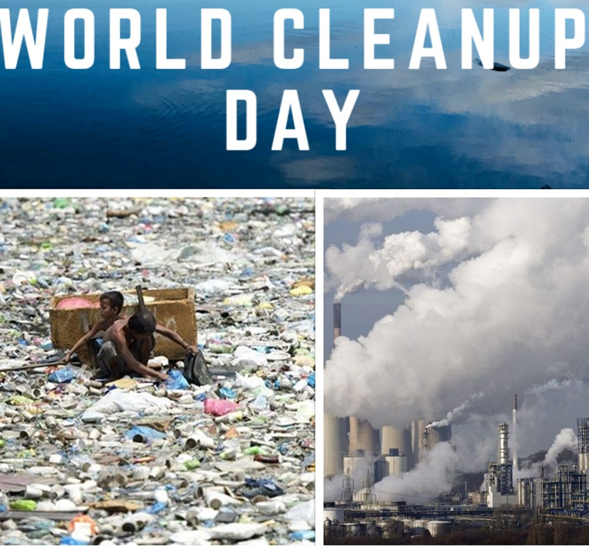 Let World Cleanup Day inspire us to prevent environmental pollution
