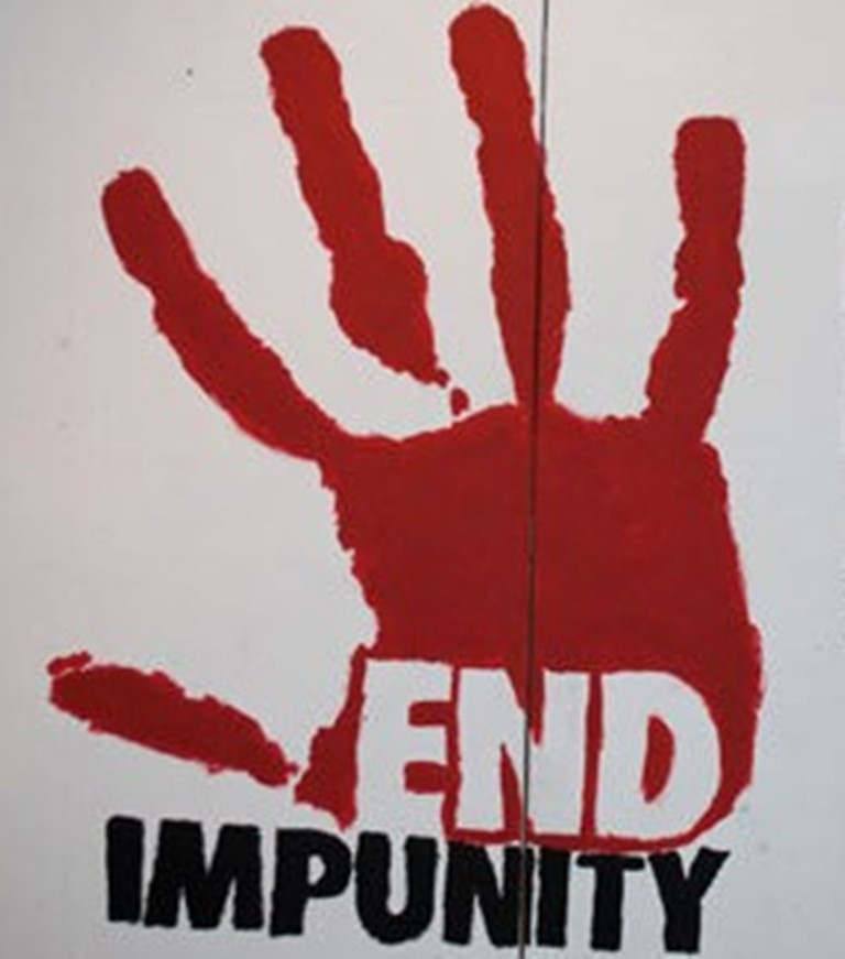 Let's support efforts to curb world impunity, bring about justice to all