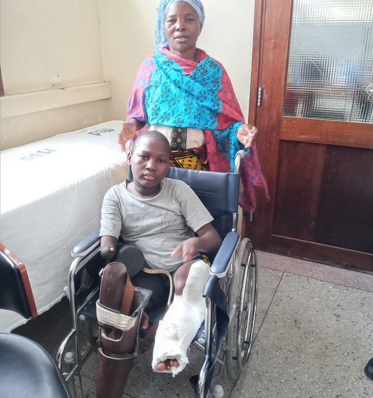 New hope for Aloyce after successful surgery