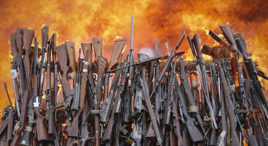 Silencing guns and firearms amnesty