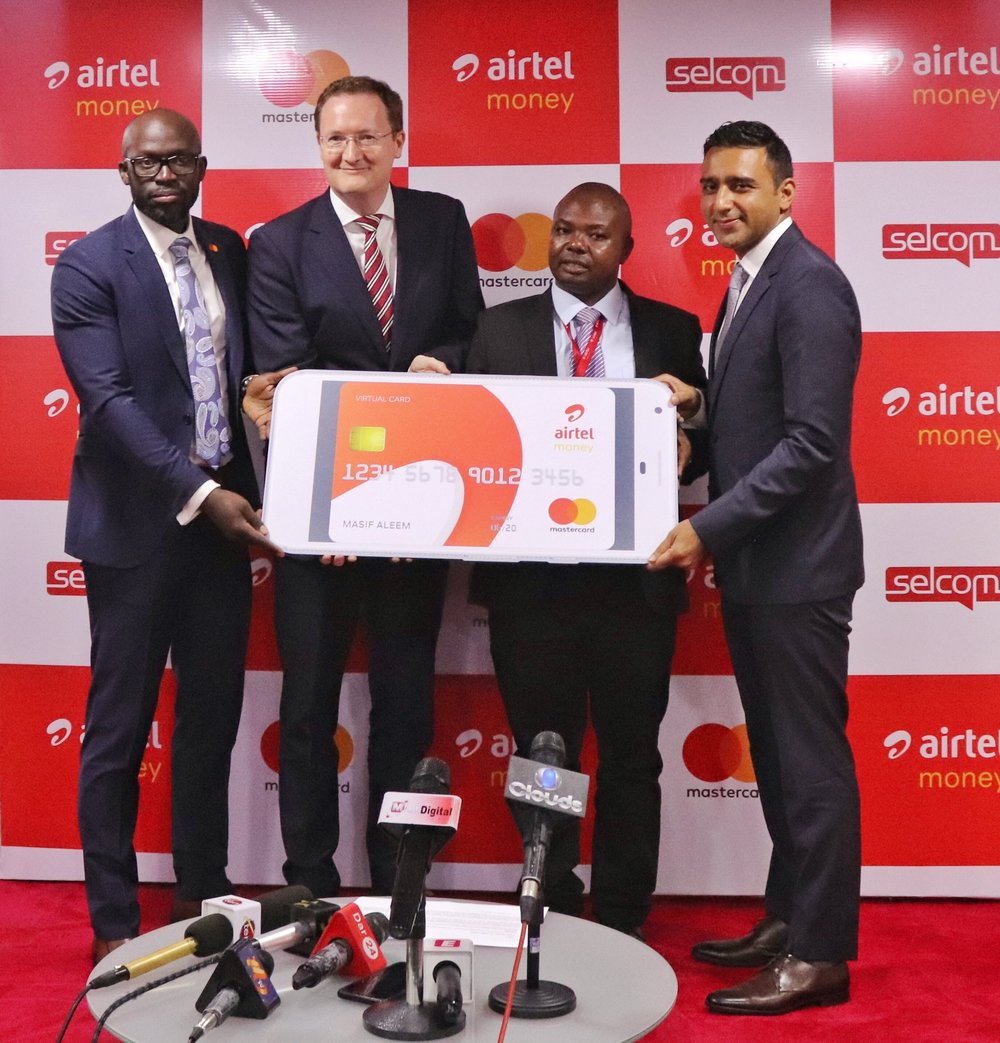 Airtel, MasterCard in secure mobile payment bid
