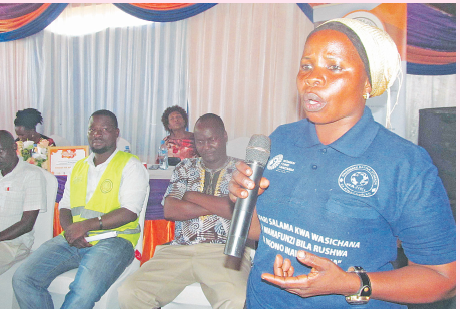 Wajiki campaign intensifies fight against GBV