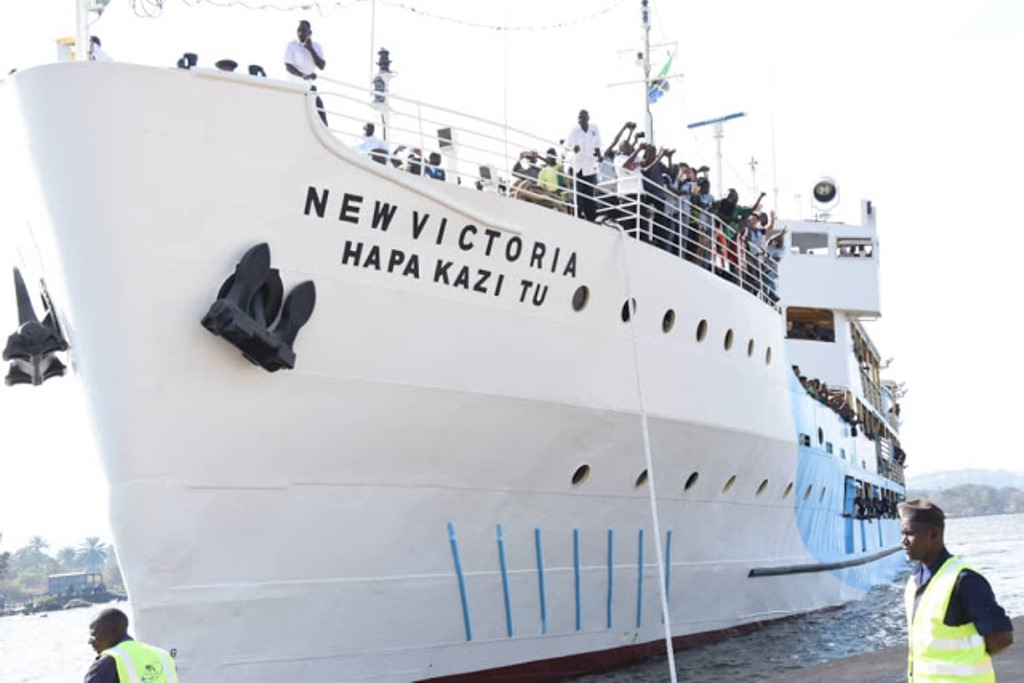 It's all smile as MV Victoria bounces back to business