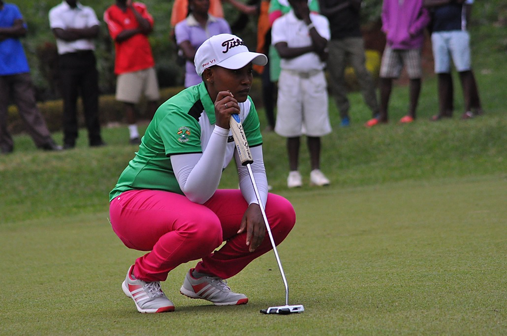 Madina leads EAC golfers in SA conquest