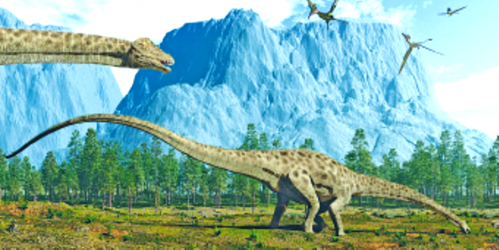 Ruhuhu in Tanzania is the cradle land of dinosaurs