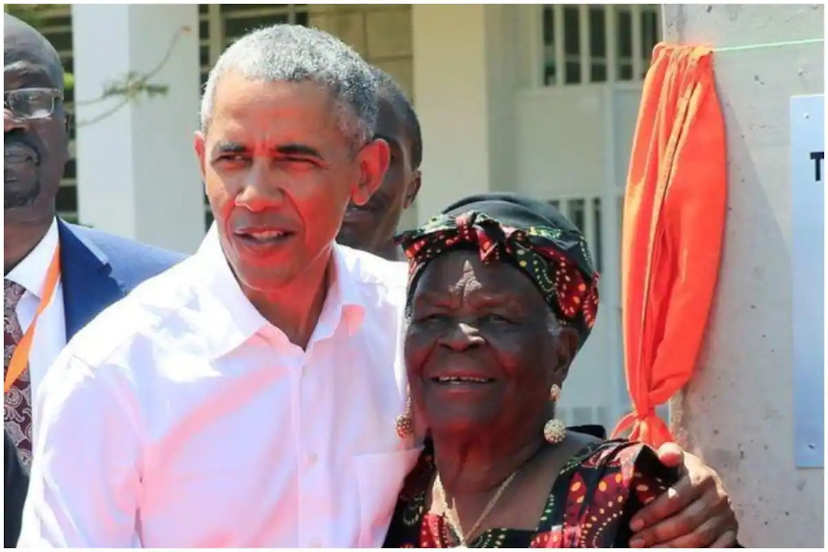 Obama's step-grandmother dies in Kenya