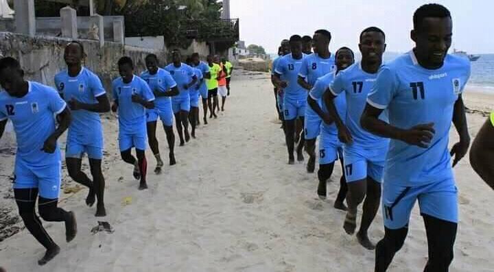 All set for beach soccer team to jet off to Senegal