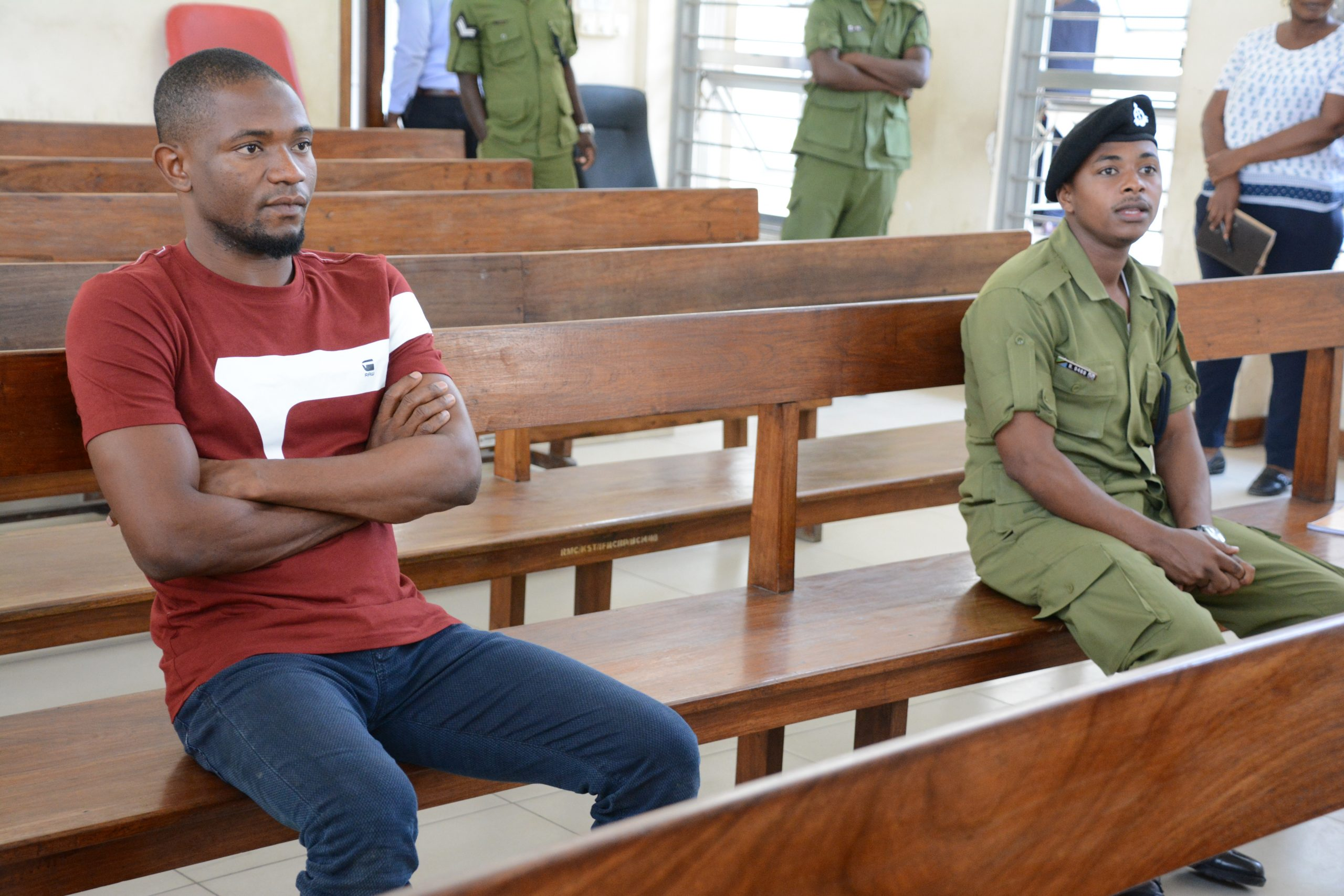 Mr Kuku appears in court for laundering 17bn/-