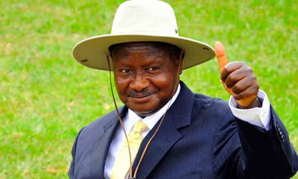 Uganda's Museveni declared winner of presidential election